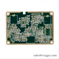 China EMS OEM Edge plated 6L Blind-buried Vias Double PCB Board IAFT 16949 for sale