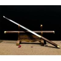 China hand made swords with rosewood saya and brass fittings SS087 for sale