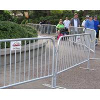 Wholesale Crazy Crowd Control Barriers / Temporary Fence Panel Corrosion Resistence from china suppliers