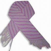 Wholesale Scarf, Made of 100% Acrylic from china suppliers