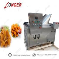 Wholesale Automatic Chicken Continuous Frying Machine|Industrial Fried Chicken Frying Machine|Chicken Frying Machine|Chicken Fyer from china suppliers
