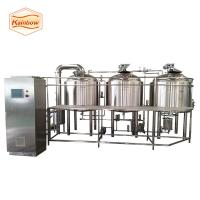China 500l 1000l 1500l beer equipment steam heating beer brewery system on sale