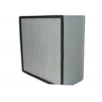 Wholesale Commercial Clean Room HEPA Air Filter Media , Stainless Steel Frame from china suppliers
