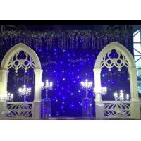 Wholesale Sky Effect LED Curtain Lights Stage Christmas Backdrop Decoration 0.4W High Brightness from china suppliers