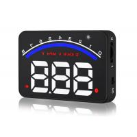 Universal M6 Heads Up Car Display Auto Power On OFF Eliminate Double Reflections For Driver