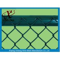 Quality Pvc Dipped Coating Chain Link Mesh Fence With Various Colors XLF-09 for sale