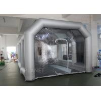 Wholesale 8m Oxford Cloth Inflatable Spray Booth With 4 Filters For Car Washing / Painting from china suppliers