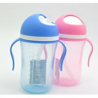 China clear safe Silicone Baby Milk Bottle compact shape closer easy to handle on sale