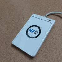 Wholesale ACR122U nfc smart card reader support ISO14443A/B/ISO18092 nfc tags with USB interface from china suppliers