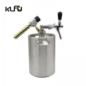 Wholesale Silver Color 5L / 10L Cold Brew Coffee Kegs With Pressure Release Valve from china suppliers