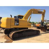 Wholesale 22 tonnage Second hand Komatsu excavator PC220-7 with water collant engine & A/C cab from china suppliers