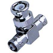 Wholesale Nickel / Gold Plated BNC T Connector Double Female To Male Type Adaptor from china suppliers