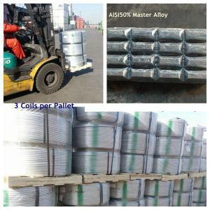 Wholesale Алюминиевые лигатуры, Grain Modifiers Aluminium master alloys AlTi5B1, AlTi3B1, AlTi5B0.6 from china suppliers