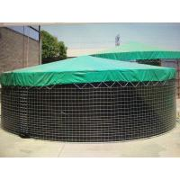 Large wire mesh storage water tank with cover for irrigation for sale