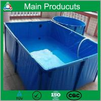 China Manufacturer customized long lifespan collapsible water tank 500l - 10000l fish tank for sale