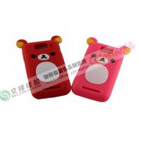 Cute Beer shape silicone iphone4 cover keep your smart phone stand supplier for sale