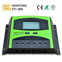 Green Black Solar Energy Controller 50A PWM Solar Power Controller With High Efficiency for sale
