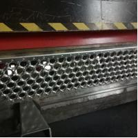 China aluminum anti-slip strip for stairs  / perforated metal anti-slip treads on sale