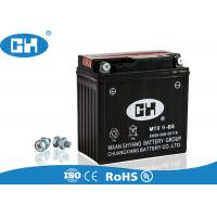 Wholesale Dry Cell 12v 9ah Battery Motorcycle , Black 125cc Scooter Battery 135 * 76 * 136mm from china suppliers