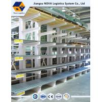 Wholesale NOVA Heavy Duty Cantilever Racking , Double / Single Sided Cantilever Rack from china suppliers