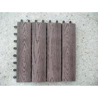 Wholesale Commercial Solid Wood Plastic Composite Flooring for Garden,Park and Balcony from china suppliers