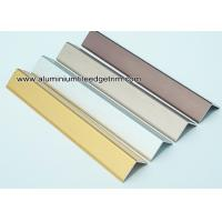 Wholesale Decorative Drywall Aluminum Corner Guards With Brushed Effect 1.5mm Thickness from china suppliers