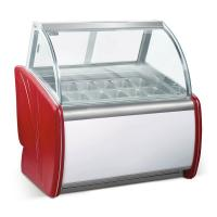 China -24℃ Degree Ice Cream Showcase Freezer Intelligent Precise Temperature Control for sale