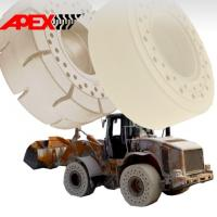 China APEX 25 inch OTR Non-marking Solid Tyre for 15.5-25, 16.00-25, 17.5-25, 18.00-25, 20.5-25, 23.5-25, 26.5-25, 29.5-25 for sale