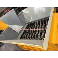 Wholesale Multifunctional Tire Shredding Machine , High Torque Tyre Recycling Equipment from china suppliers