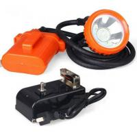 Wholesale High Powered LED Miners Cap Lamp / Coal Miners Headlamp With Rechargeable Battery from china suppliers