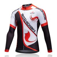 Wholesale Heat Transfer Printing Custom Cycling Jersey Breathable Fabric For Men / Women from china suppliers
