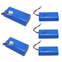 Wholesale 7.4V 2600mAh Mobile Warming Battery For Heated Jackets / Vests , 1C Discharge Rate from china suppliers
