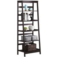 Wholesale Wooden Ladder Shelf ,Tall Book Shelves With Customized Color from china suppliers