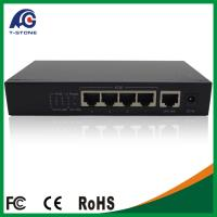 China Reverse Power Supply 5 Port Giga Poe Switch Supply 4 Port Poe and 1 Port Pd (TSD-PSE204G) on sale