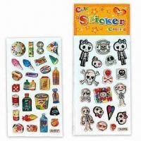 Wholesale 3-D Dome Stickers, Suitable for Promotional Purposes, Various Designs are Available from china suppliers