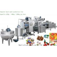 China YX-300 Full Automatic Hard Candy Production Line 300kg/H Time Saving For Food Industry for sale