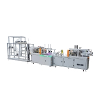 Wholesale Disposable Three Layer Outer Earloop Mask Manufacturing Machine from china suppliers