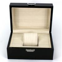 Wholesale Rectangle Highend Jewelry Wooden Box With Silk Screen Printing Logo from china suppliers