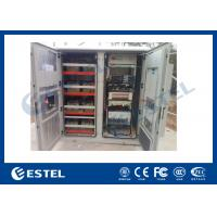 Best Reasonable Layout Assembled Base Station Cabinet Outdoor Rack Enclosure With Battery Compartment wholesale