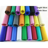 Thick EVA Foam Craft Sheets DIY Material , Die Cut Foam Sheets / Tube Educational Products