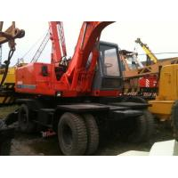 Wholesale Used Hitachi Wheel Excavator EX100WD,EX160WD Japanese Second Hand Excavator from china suppliers