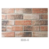 Quality 210 * 55 * 12mm Clay Thin Veneer Brick / Thin Brick Veneer Interior Walls for sale