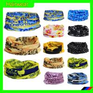 China Best selling magic scarf/seamless tube headwear/cotton hair bandana on sale