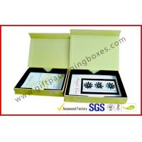 Quality Luxury Paper Rigid Gift Boxes, Magnetic Custom Printed Packaging Boxes with PS tray for sale