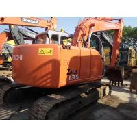 Wholesale HITACHI ZX135 Second Hand Excavators , 2nd Hand Diggers Isuzu Engine 4  Cylinders from china suppliers