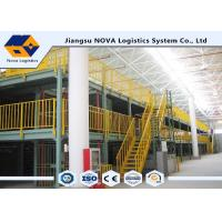 Buy cheap Corrosion Proof Pallet Rack Mezzanine Systems / Warehouse Mezzanine Systems from wholesalers