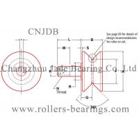 HPV-62 V - Grooved Yoke Type Track Rollers Gcr15 In Foundry Industry