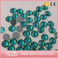 Wholesale Sawarovski rhinestones Factory Wholesale Fashion Crystal Women Clothing Accessories Garment Trims Studs Jewelry from china suppliers