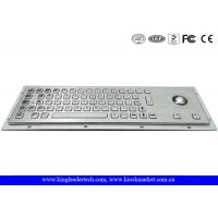Buy cheap Kiosk Keyboard And Trackball Keyboard Stainless Steel With Pointing Devise from wholesalers