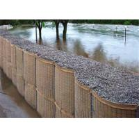 Wholesale Professional Hesco Bastion Barrier For Bridge Protection / Flood Bank from china suppliers